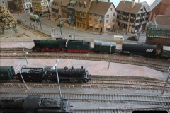 Some of your Host's model locomotives running on a friends railway.  (17)17