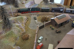 Some of your Host's model locomotives running on a friends railway.  (18)18