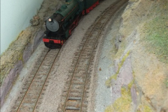 Some of your Host's model locomotives running on a friends railway.  (24)24