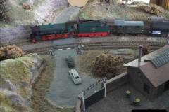 Some of your Host's model locomotives running on a friends railway.  (27)27