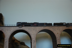 Some of your Host's model locomotives running on a friends railway.  (33)33