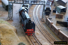 Some of your Host's model locomotives running on a friends railway.  (45)45