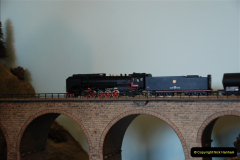 Some of your Host's model locomotives running on a friends railway.  (50)50