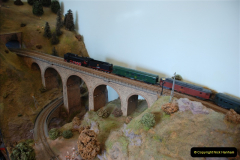 Some of your Host's model locomotives running on a friends railway.  (57)57