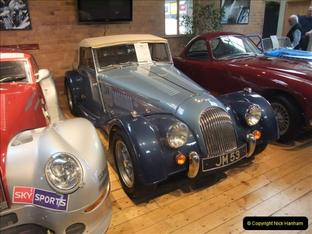 2011-07-14 The Morgan Motor Car Factory, Malvern, Worcestershire.  (45)045