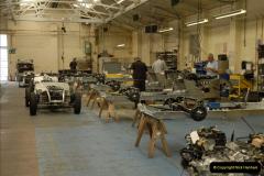 2011-07-14 The Morgan Motor Car Factory, Malvern, Worcestershire.  (73)073