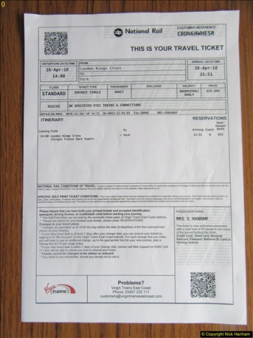 2018-04-16 London - Kings Cross - To York.  (7)007