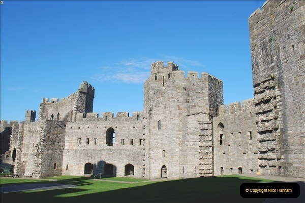 2018-10-10 Caernarfon Castle.  (26)025