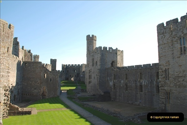 2018-10-10 Caernarfon Castle.  (17)016