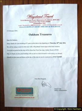 Oakham Treasures 28 July 2016