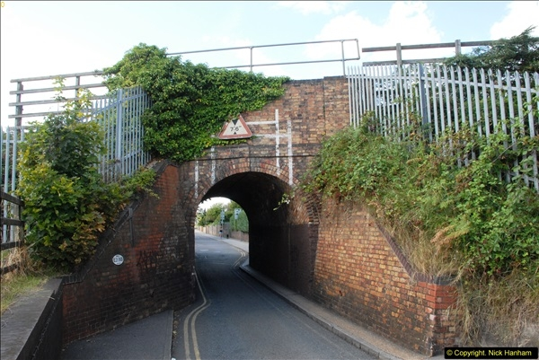 2014-08-20 Key Hole Railway Bridge, Poole, Park.  (1)155