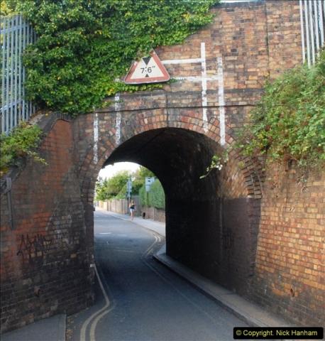 2014-08-20 Key Hole Railway Bridge, Poole, Park.  (2)156
