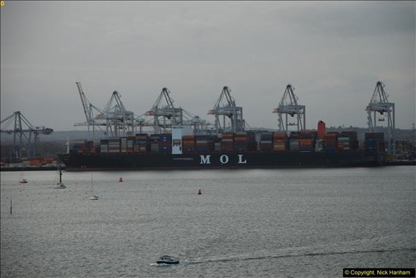 2015-12-09 Southampton and P&O Oriana. (107)107