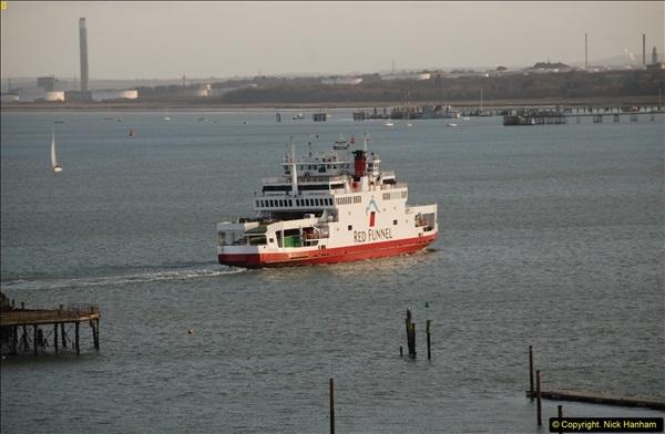 2015-12-09 Southampton and P&O Oriana. (98)098