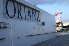 2015-12-09 Southampton and P&O Oriana. (66)066
