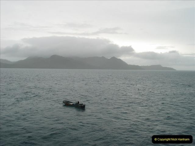 2005-11-15 Isla da Providencia (Columbia) Unable to tender in due to rough sea (2)151