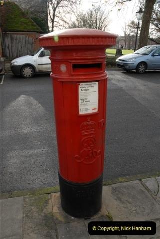 2012-11-23 Salisbury Pillar Boxes, Wiltshire.  (12)065