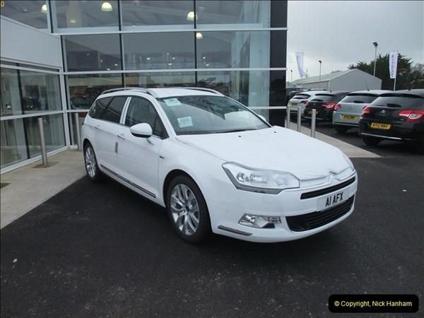 2013-01-28 New car arrives at Penton.  (3)047