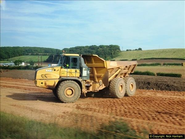 2013-09-27 Road works near Nottingham.  (11)208