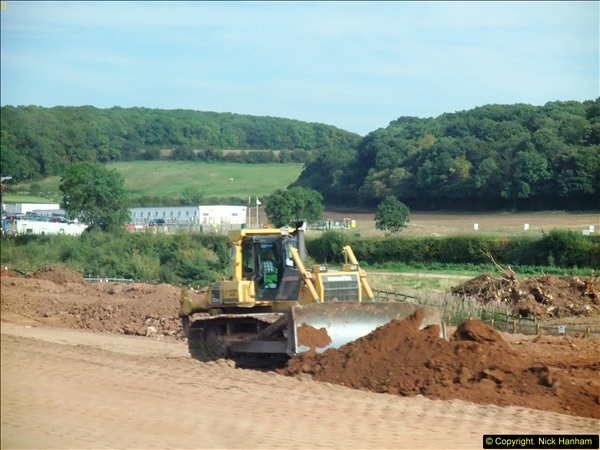 2013-09-27 Road works near Nottingham.  (12)209