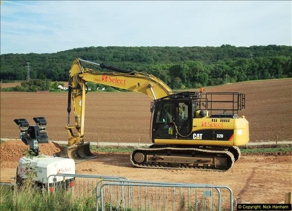 2013-09-27 Road works near Nottingham.  (13)210