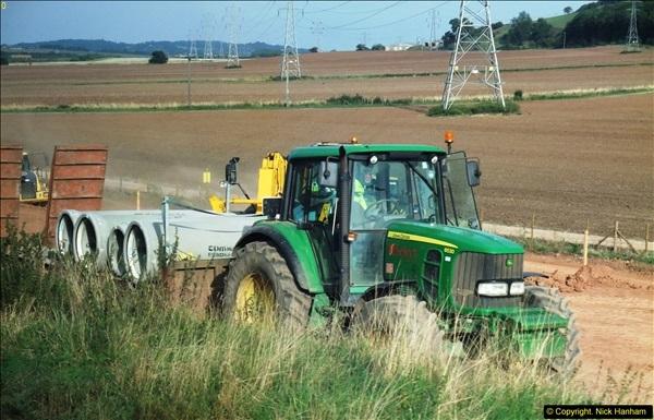2013-09-27 Road works near Nottingham.  (14)211