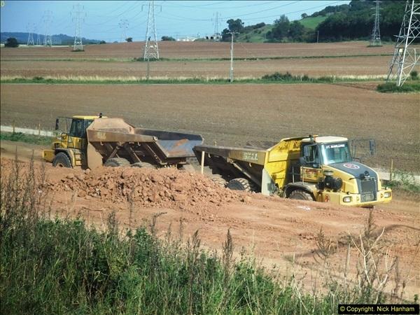 2013-09-27 Road works near Nottingham.  (15)212