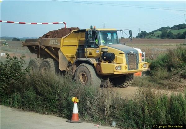 2013-09-27 Road works near Nottingham.  (21)218