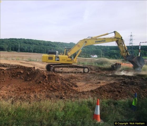 2013-09-27 Road works near Nottingham.  (23)220