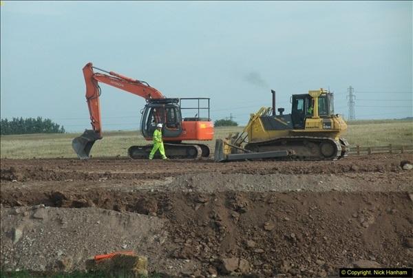 2013-09-27 Road works near Nottingham.  (29)226