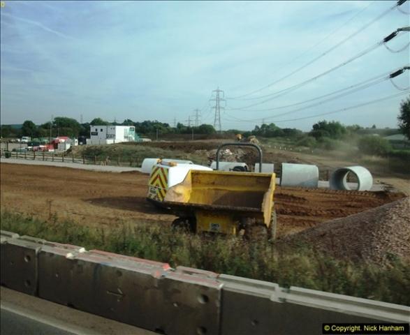 2013-09-27 Road works near Nottingham.  (3)200
