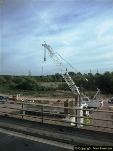 2013-09-27 Road works near Nottingham.  (6)203