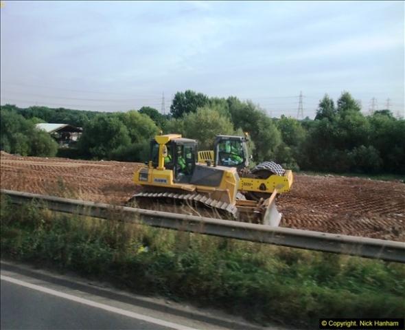 2013-09-27 Road works near Nottingham.  (7)204
