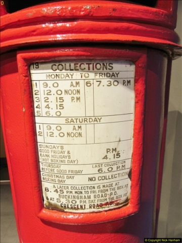 2018-06-09 The Postal Museum, Mount Pleasant, London.  (61)061