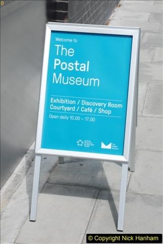 2018-06-09 The Postal Museum, Mount Pleasant, London.  (7)007