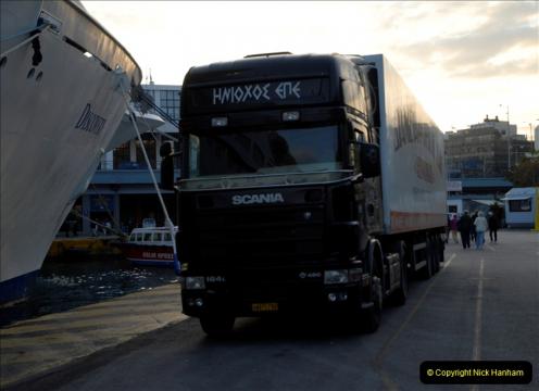 MV Discoverey Eastern Med. Cruise Port of Piraeus 01 November 2011