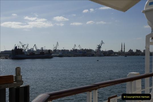 MV Discovery Eastern Med. Cruise Port Said 09 November 2011