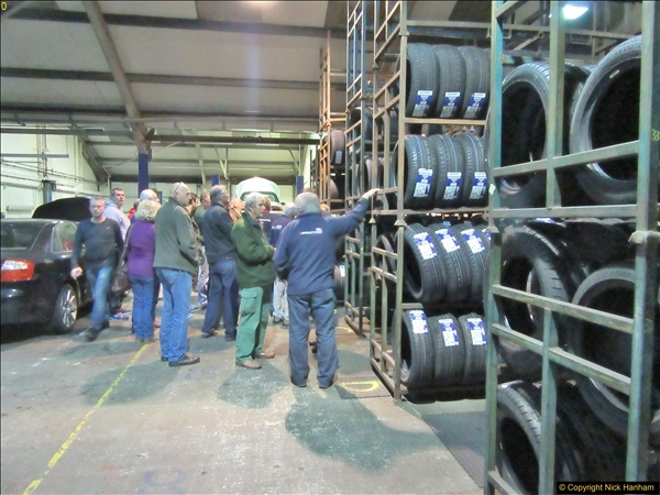2017-11-02 Protyre visit by IAM Group Poole, Dorset.  (18)018