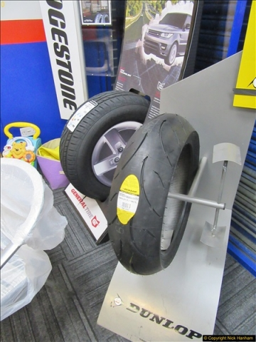 2017-11-02 Protyre visit by IAM Group Poole, Dorset.  (4)004