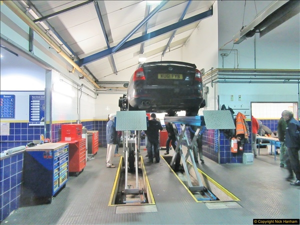 2017-11-02 Protyre visit by IAM Group Poole, Dorset.  (44)044
