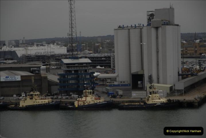 2011-04-14 to 17. Cunard Queen Victoria & Southampton.  (14)014
