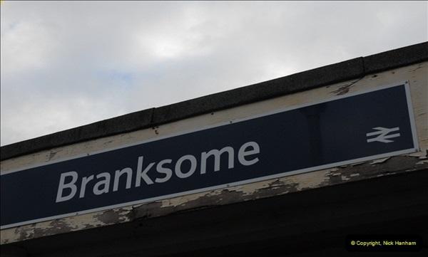 2012-11-22 Branksome Station, Poole, Dorset.  (1)038