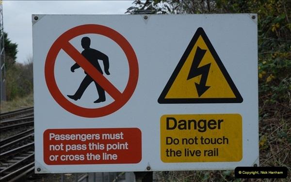 2012-11-22 Branksome Station, Poole, Dorset.  (20)057