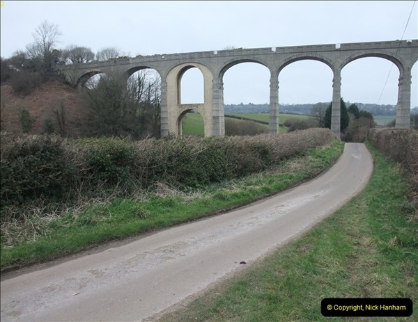 2013-03-01 Cannington Viaduct, Lyme Regis Branch, Dorset.  (10)093