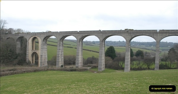 2013-03-01 Cannington Viaduct, Lyme Regis Branch, Dorset.  (1)084