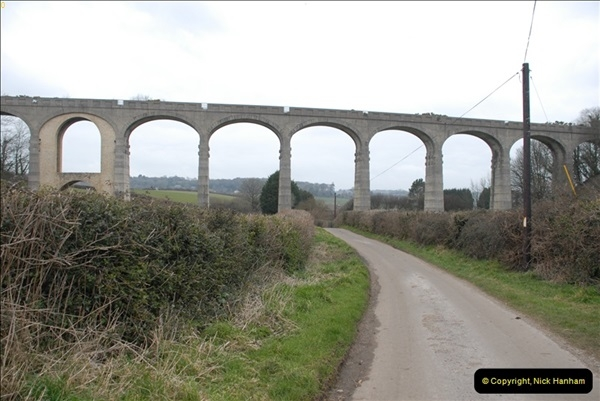 2013-03-01 Cannington Viaduct, Lyme Regis Branch, Dorset.  (12)095