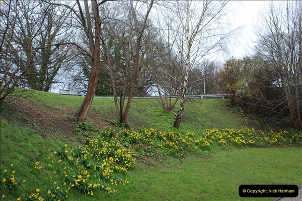 2013-03-16 Railway past at Broadstone, Dorset.  (4)106