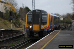 2012-11-22 Branksome Station, Poole, Dorset.  (10)047