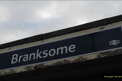 2012-11-22 Branksome Station, Poole, Dorset.  (1)038