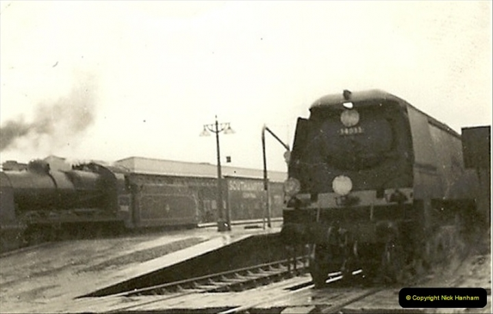 1955 to 1959 British Railways in Black & White.  (1)0001